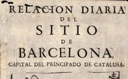 Opuscle imprès a Girona just després de la caiguda de Barcelona. 1714. AHCB.