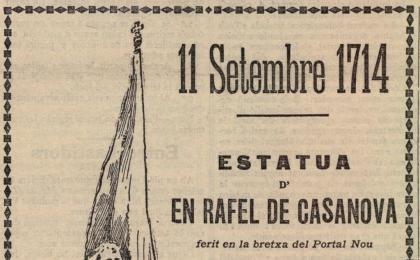 Anunci al diari La Renaixença. 11-09-1902. AHCB.